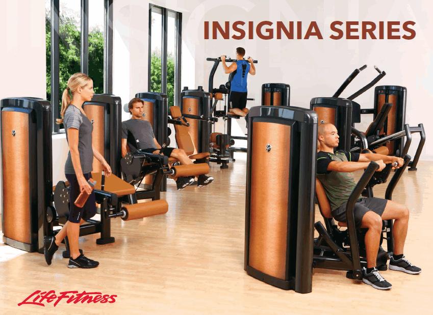 Професионална фитнес серия Insignia от Life Fitness