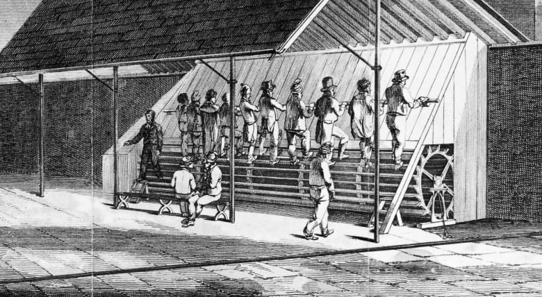 затворници на бягаща пътека